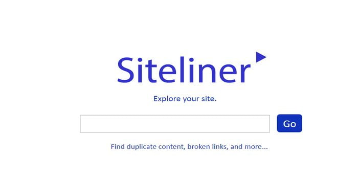 siteliner duplicate content analyzer tool