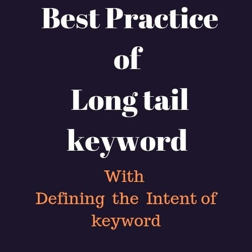 Best practice to find long tail keyword