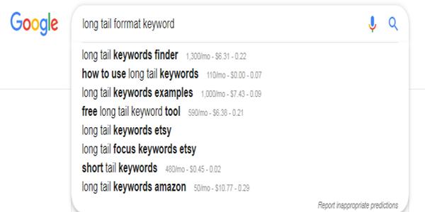 google auto keyword generator