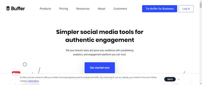 Social media managing google chrome extensions