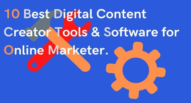 digital Content Creator tool and software