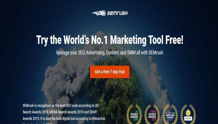 Semrush content creation tool for digital marketing