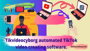 Tikvideocyborg the app that is made for tik tok