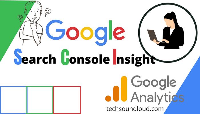 Google Search console Insight